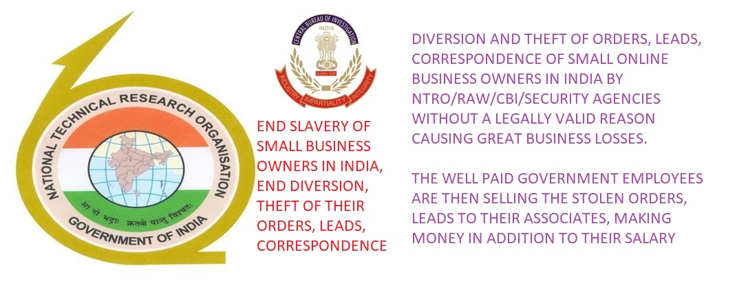 diverted leads, orders, correspondence, cbi, raw, ntro, security agencies
